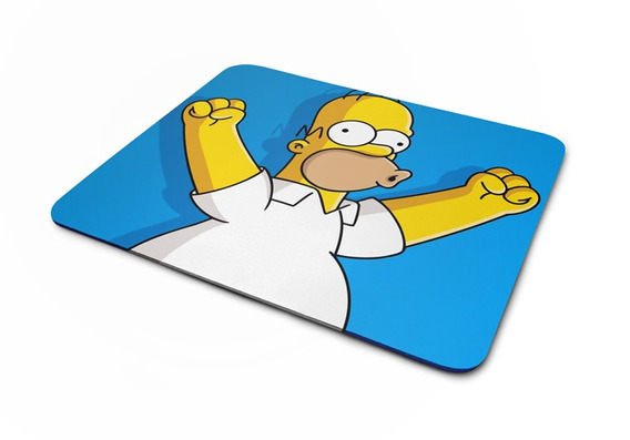 Mousepad Simpsons Homer Vibration Artgeek