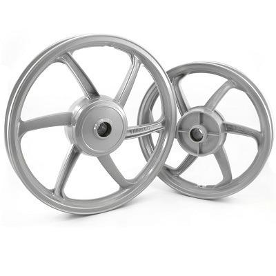 Roda Esportiva Prata (modelo Sport Mix) Fabreck Fan 125 09/1