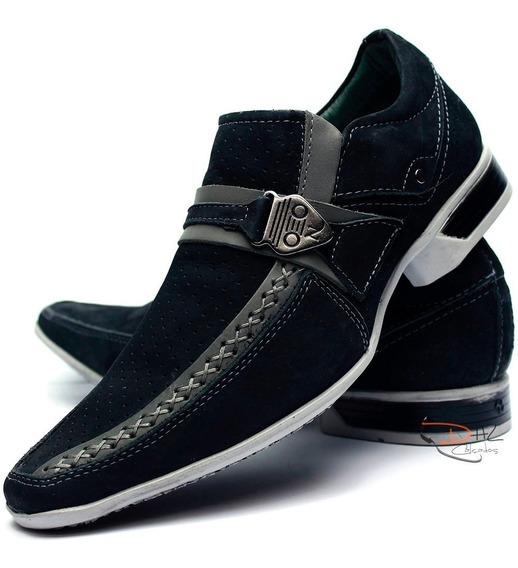 Sapato Casual Social Masculino Super Luxo Couro Legitimo