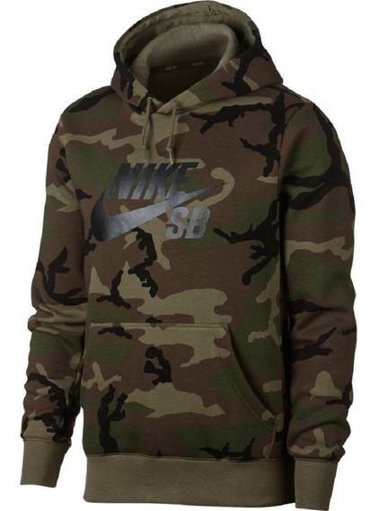 Blusão Nike Sb Camo Skate Masculino