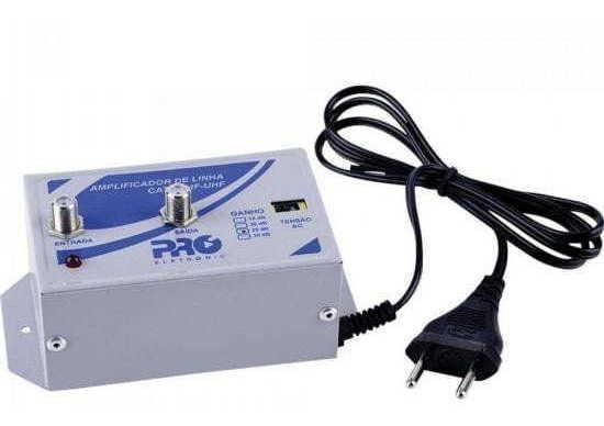 Amplificador De Linha Vhf/uhf Pqal-2500g2 Proeletronic