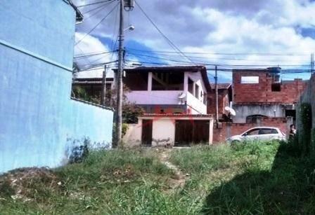Terreno À Venda, 200 M² Por R$ 80.000 - Centro (manilha) - Itaboraí/rj - Te0006