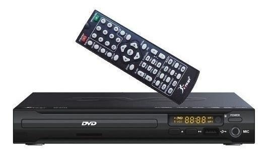 Dvd Player Kp-d103 Knup- Entrada Usb + Karaoke + Controle