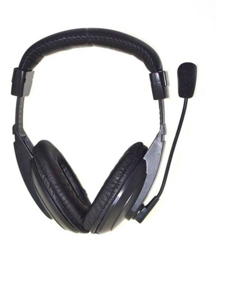 Headset Maxprint Profissional 6011444, Com Microfone, P2 - Preto