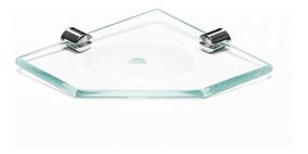 Saboneteira Box Diamante - I8 (canto) Allforglass