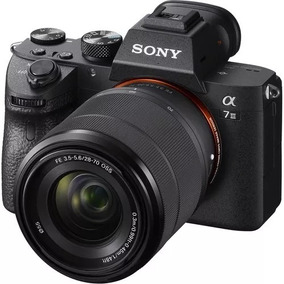 Sony Alpha A7 Iii Mirrorless Camera Com Lente 28-70mm, Novo