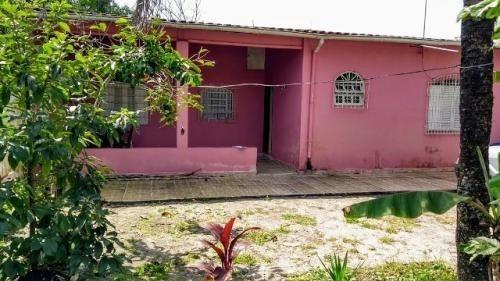 Casa Na Praia Em Itanhaém Ficando Lado Serra 5904