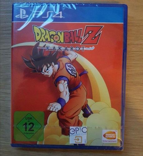 Juego Dragon Ball Z Kakarot Ps4 Fisiconuevo Sellado!!!