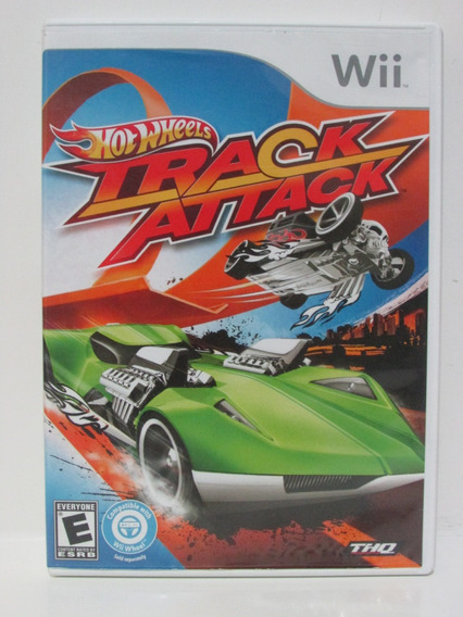 Hot Wheels Track Attack - Nintendo Wii Completo Original