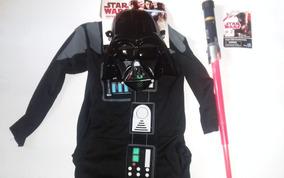 Disfraz Darth Vader Licencia Fantasy Ruz + 1 Sable Laser