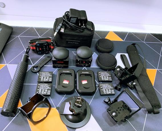 Kodak Pixpro Sp360 4k | 2 Microsd 32gb | +acessórios | Usado
