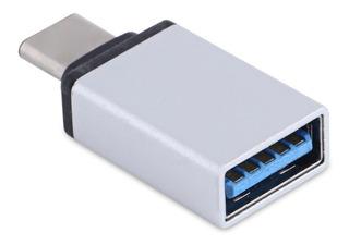 Adaptador Otg Usb Hembra 3.0 Usb Tipo C Macho Mac Cel Metal