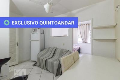 Casa Em Condomínio Mobiliada Com 1 Dormitório E 2 Garagens - Id: 892933187 - 233187