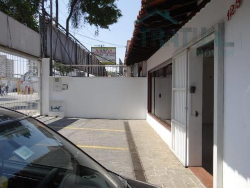 Casa  Comercial Para Locação, Jardim Bela Vista, Santo André. - Ca0011