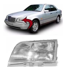 Farol Mercedes C180 C220 C280 Ano 1994 1995 1996 Esquerdo
