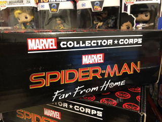Spider-man Far From Home Pop Marvel Collector Corps Funko