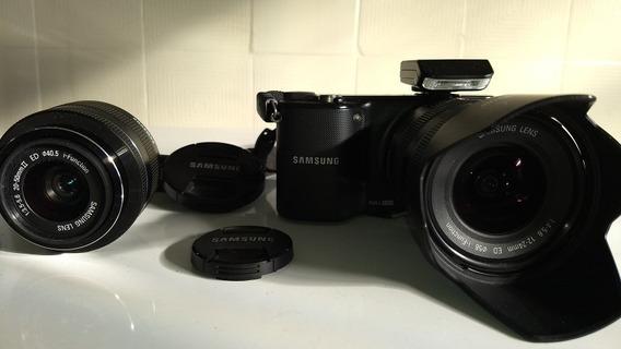 Lente Samsung 12-24mm E 20-50mm + Câmera Nx 2000