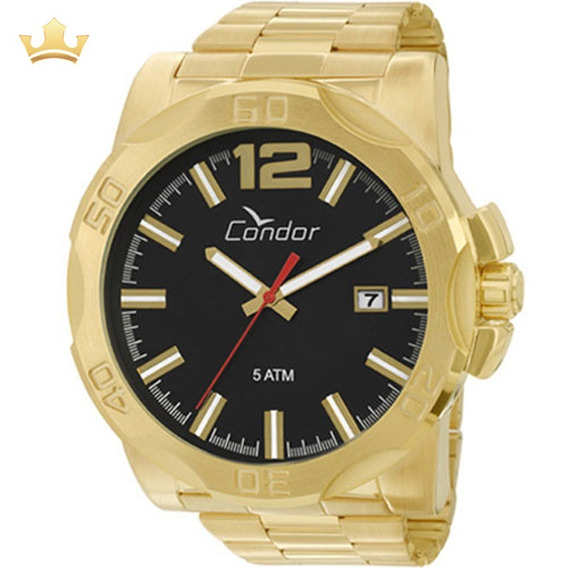 Relógio Condor Masculino Co2415aa/4p C/ Garantia E Nf Full