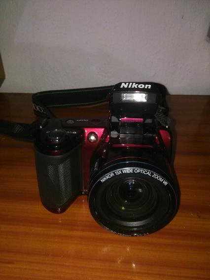Video Cámara Nikon Coolpix L110, Usada.