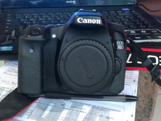Camera Canon 70 D - Somente O Corpo