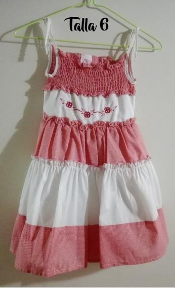 Vestido De Niña Talla 6 Y 8