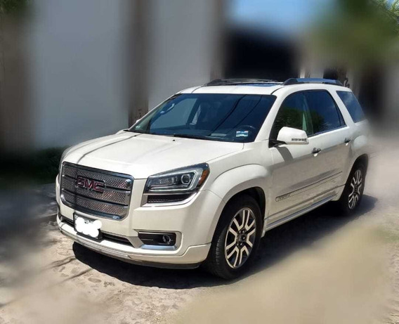 Gmc Acadia 3.6 Slt2 Premium V6 Piel 7pas. Mt 2013