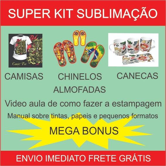 Kit Estampas Com Artes Top + 500.000 Artes De Brinde