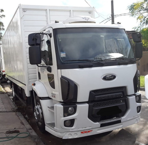 Ford Cargo 1517 Modelo 2012 Con Carroceria Paquetera