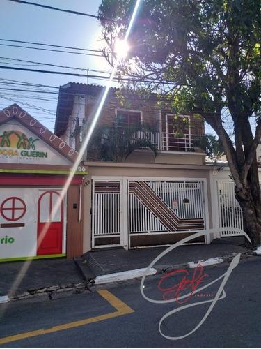 Sobrado Na Vila Campesina, Osasco,  Com 4 Dormitórios E 6 Vagas. - Ca00442 - 68912937