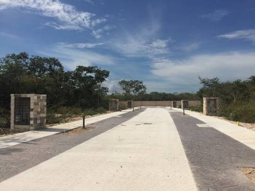 4 Terrenos Residenciales En Privada En Paseo Country, Exclusivo Desarrollo Al Norte De Mérida