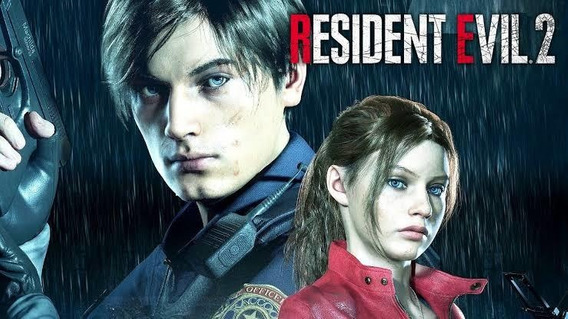 Resident Evil 2 Remake Midia Digital Secundária.