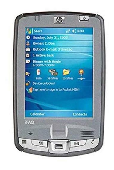Handheld Hp Ipaq Hx2790 + Teclado Palm + Gps Bluetooth