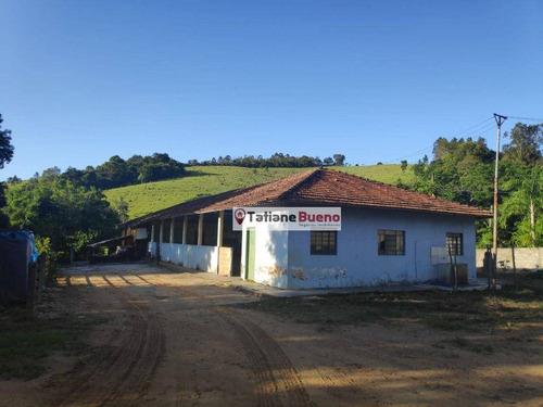 Chácara Com 1 Dormitório Para Alugar, 3000 M² Por R$ 3.500/mês - Reserva Fazenda São Francisco - Jambeiro/sp - Ch0068
