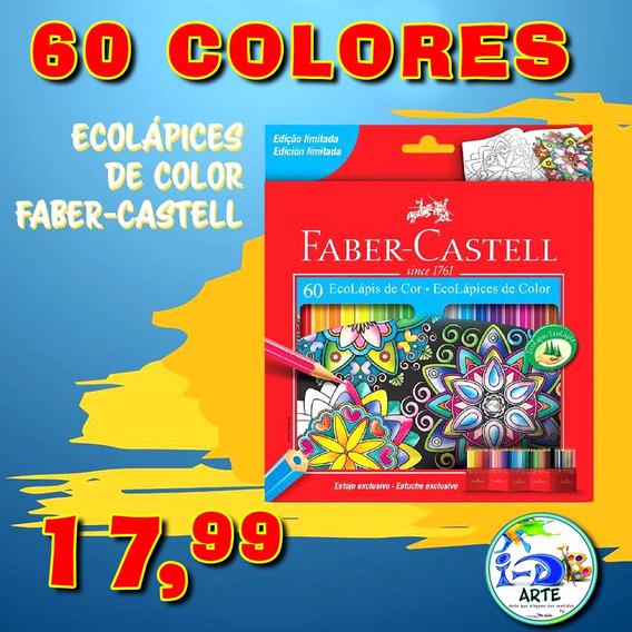 Lapices De Colores Faber Castell 60 Colores 17,99