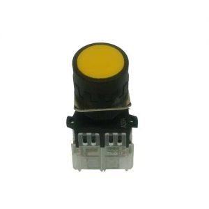 Botão De Pulso Kacon Amarelo En60947