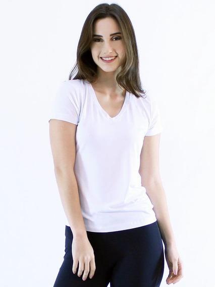 10 Baby Look Blusas Camisetas Decot V