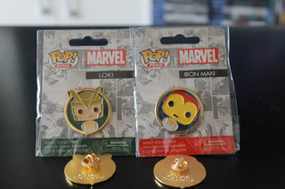 Funko Pop Pin Iron Man Original