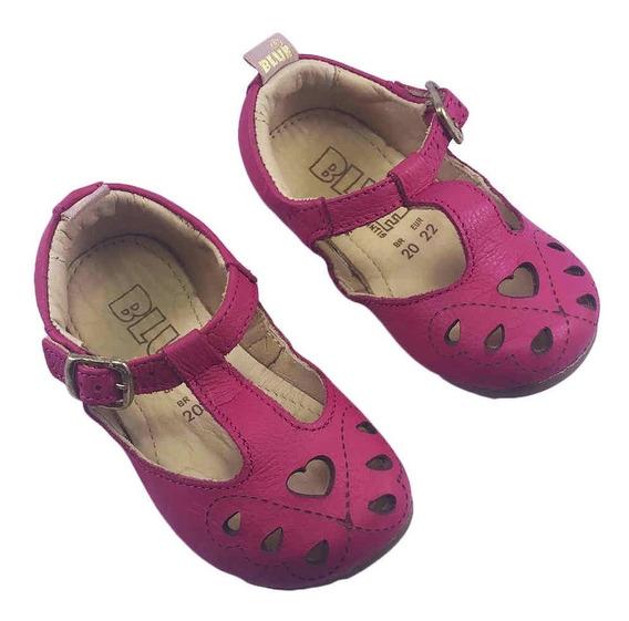 Sapatilha Infantil Lara Coração Pink Blue