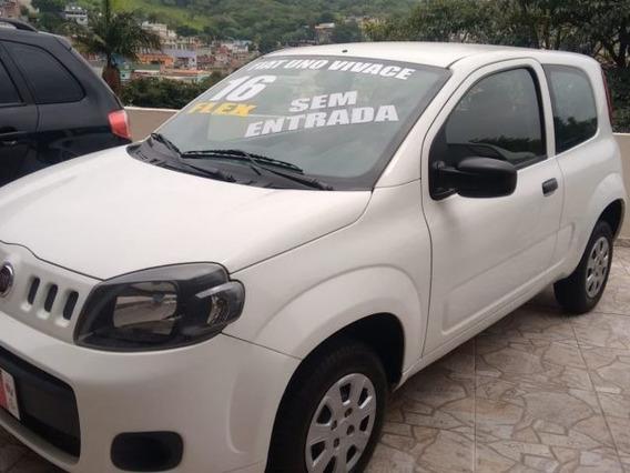 Fiat Uno Vivace 1.0 2016 Financiamos E Fazemos Troca