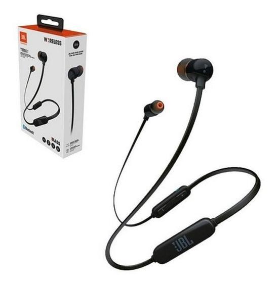 Fone De Ouvido Jbl T110 Bt Bluetooth Sem Fio - Original