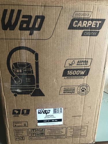 Imagem 1 de 5 de Extratora De Sujeira Wap Carpet Cleaner Máquina Profissio
