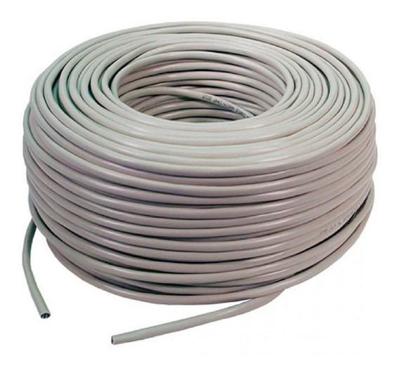 Cable Utp Cat5e Rollo De 50 Metros Marca Wireplus+ Cat 5e