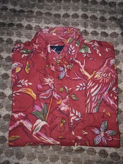 Camisa Manga Corta American Eagle