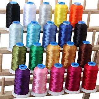 Hilo De Coser O Bordar 20 Cone Set Polyester 1000m