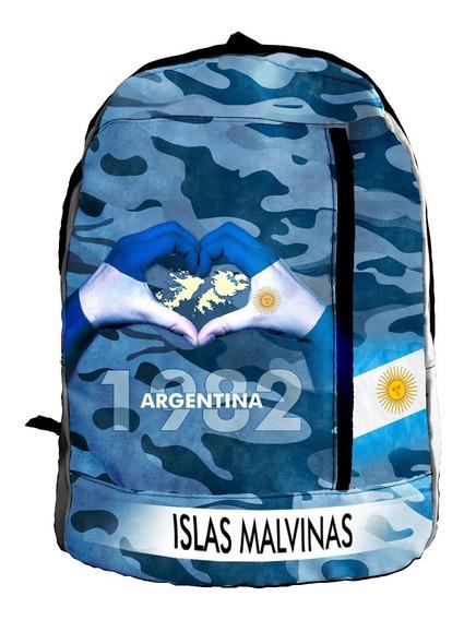 Mochila Sublimada Malvinas Argentinas Ranwey Mcs438