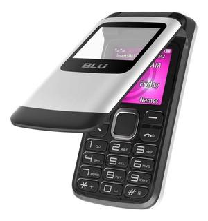 Celular Flip Blu Zoey Flex Bom P Idosos Dual Chip Bluetooth