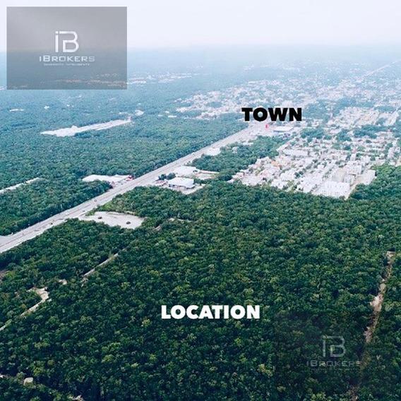 Venta De Terreno En Carretera Tulum - Cancún Cerca De La Ciudad Y De La Playa