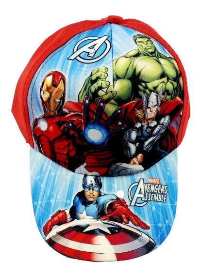 Gorra Avengers Assemble Marvel Infantil Original