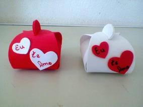 Porta-bombom Coração Eva Para Noivado E Casamento