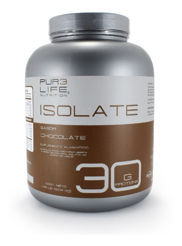Pur3 L1fe Proteina | 100% Whey Protein Isolate